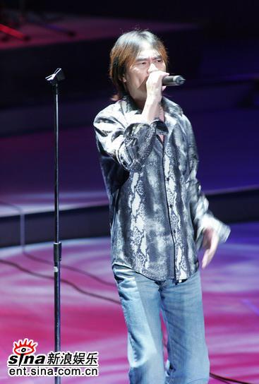 图文:台湾电影金马奖颁奖典礼--嘉宾卖力演唱