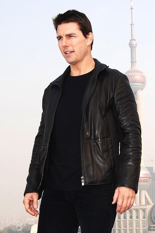 图文:《碟中谍3》上海发布会--背后的东方明珠
