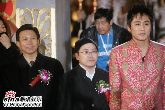 图文:《无极》全球首映--刘烨和叶锦添