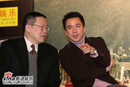 图文:《情癫大圣》发布会--利雅博和王中磊