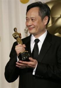 组图:李安凭借《断背山》获得最佳导演奖