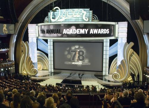 图文:第78届奥斯卡颁奖典礼隆重举行现场全景