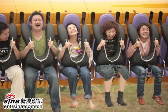 图文:《看上去很美》广州首映-体会刺激时刻