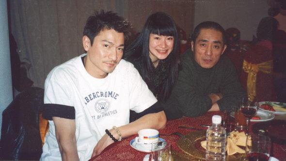 图文:甘露和名人--甘露和张艺谋、刘德华