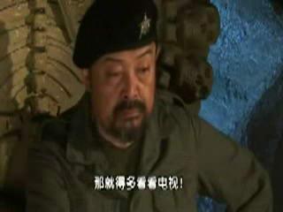 图文:胡戈《鸟笼山剿匪记》-傻大木看电视