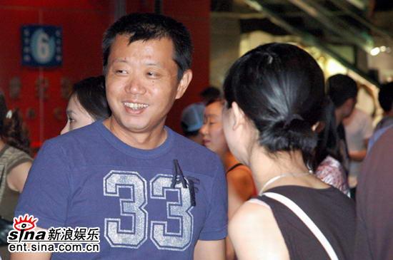 图文:徐静蕾新片北京首映--宋柯到场
