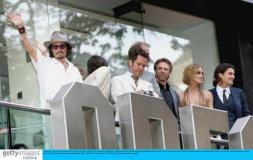 7月4日最酷男星:痞子德普出席《加勒比2》首映
