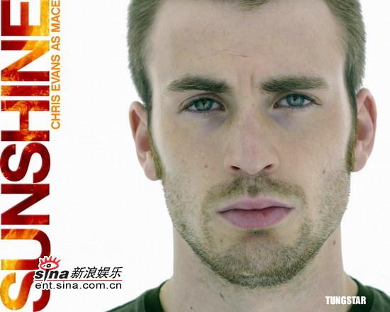 图文:《拯救阳光》角色海报--克里斯・埃文斯