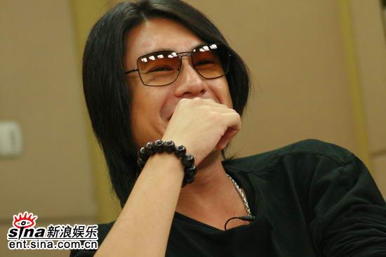 图文:《东京审判》主创聊天--朱孝天开心