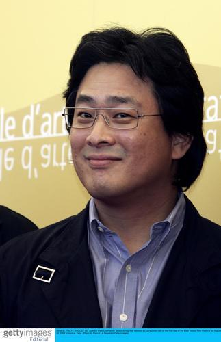 图文:威尼斯评委亮相-韩国导演朴赞旭