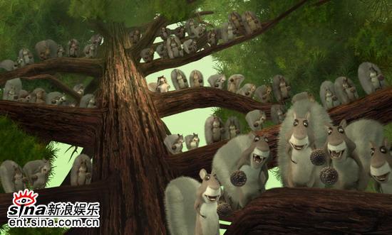 图文:哥伦比亚动画片《丛林大反攻》剧照(5)