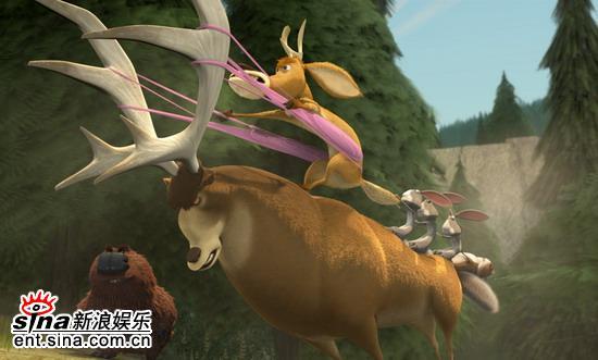 图文:哥伦比亚动画片《丛林大反攻》剧照(16)