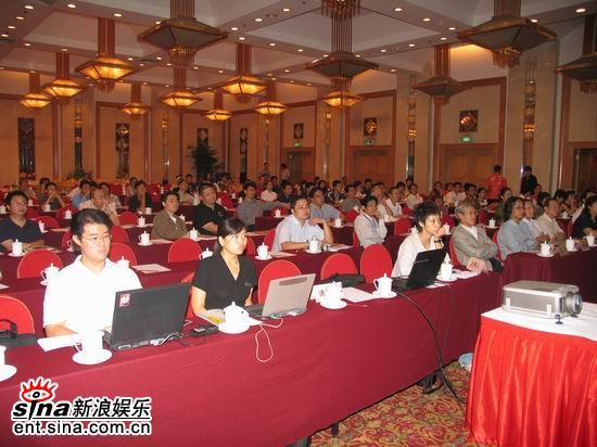 图文:首届华语青年影像论坛举行--论坛现场