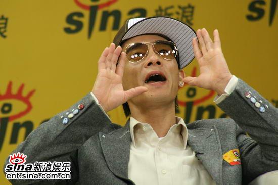 图文:《卧虎》主创新浪聊天--陈小春呼喊状