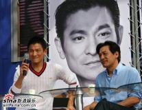组图:刘德华釜山调侃韩国天王曝多拍戏为还债