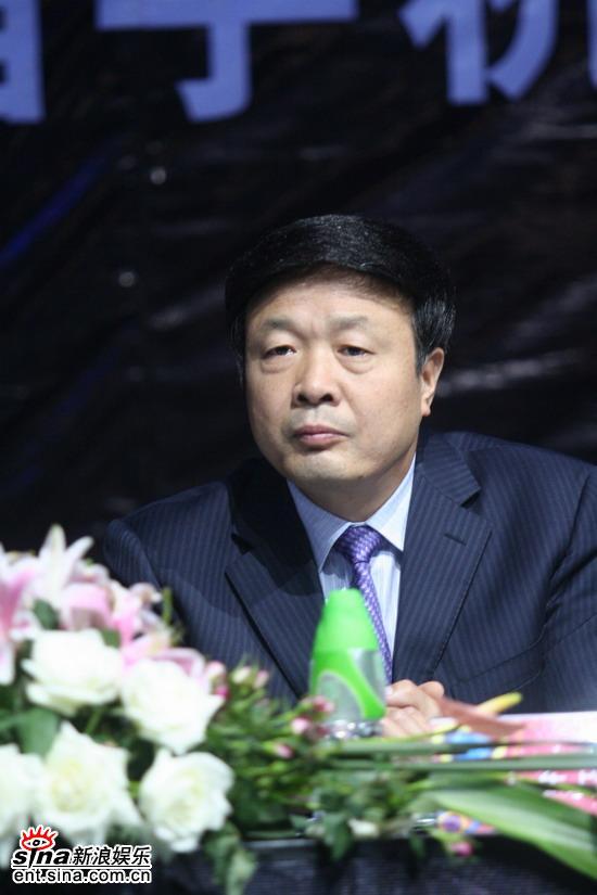 图文:手机电影发布会-西安市委宣传部副部长王军民