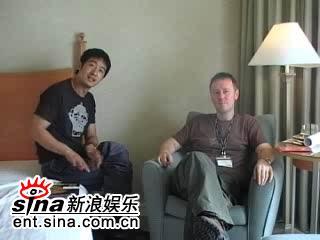 图文:郭晓冬釜山接受媒体采访-打个招呼吧