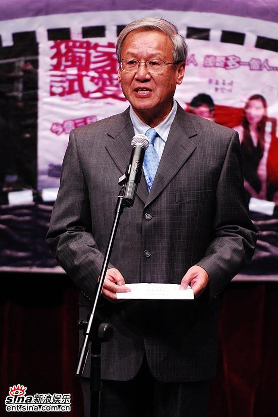 图文:电影家协会副主席谢飞和各国同行见面
