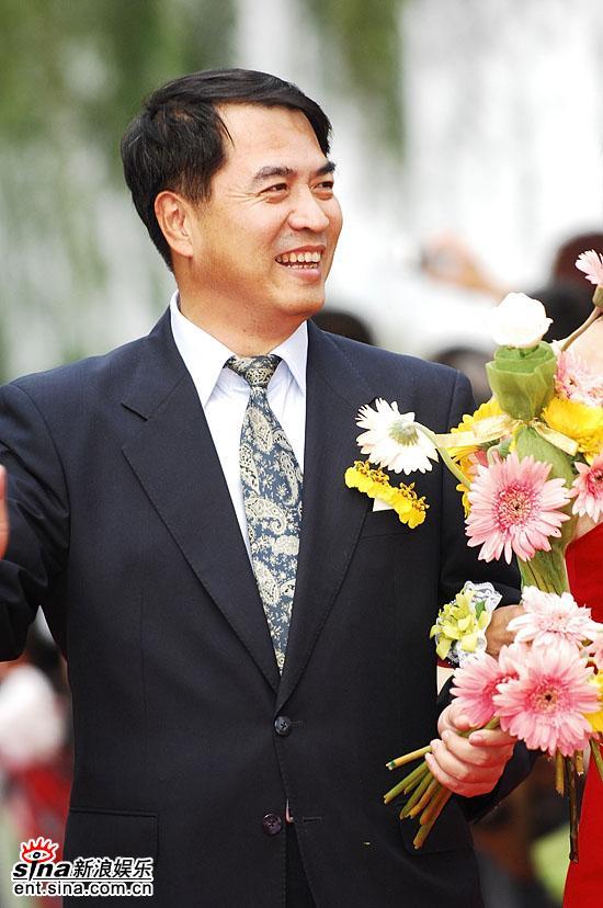 图文:15届金鸡百花奖百花大道--演员廖京生