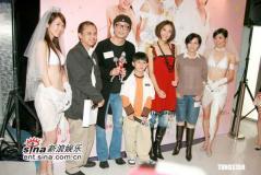 组图:《三分钟先生》香港首映郑中基看好票房