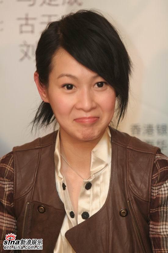 图文:《生日快乐》聊天--刘若英做鬼脸
