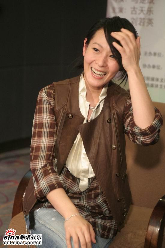 图文:《生日快乐》主创聊天--刘若英开心不已