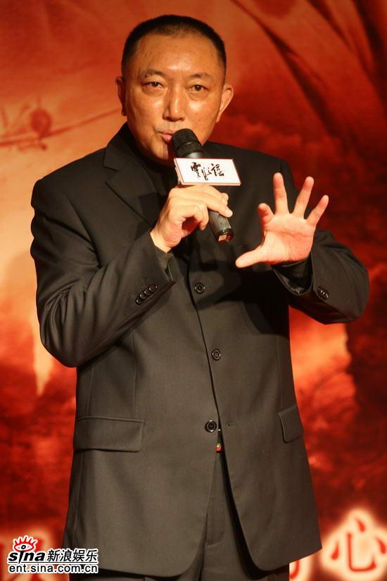 图文:《云水谣》首映发布会--中影集团总经理韩三平