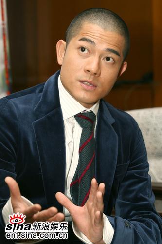 图文:《父子》上海宣传--郭富城侃侃而谈