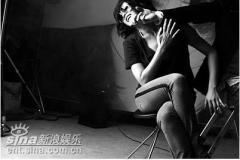 组图:青龙影后金慧秀写真性感诱惑自摸双乳