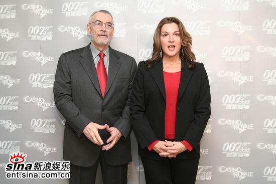 图文:《皇家赌场》北京行--两位制片人