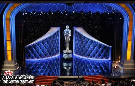 图文:第79届奥斯卡颁奖典礼现场美轮美奂