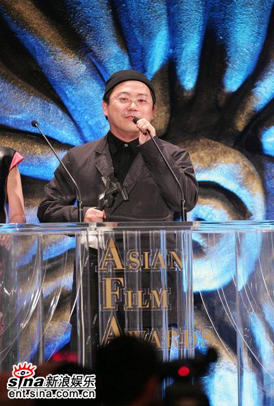 图文:叶锦添凭《夜宴》获颁最佳美术指导
