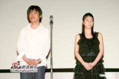 组图:《神童》香港首映成海璃子献上中文问候