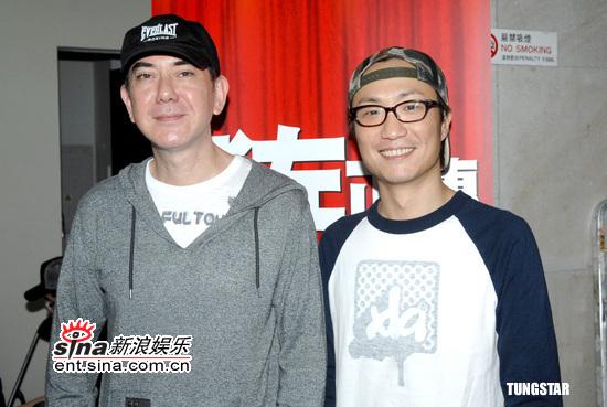 图文:《老左正传》开镜--郑中基和黄秋生