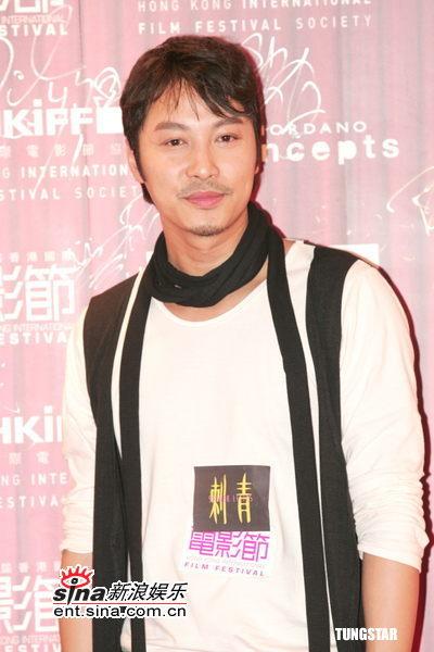 图文:《刺青》香港首映--谭耀文