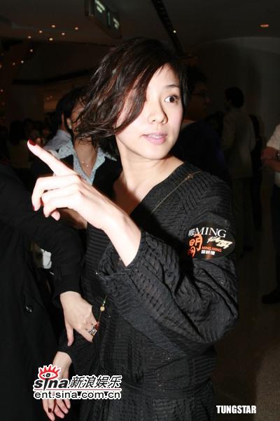 图文:《明明》香港首映式--林嘉欣
