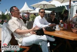 《铁三角》戛纳专访杜琪峰谦称不如徐克(图)