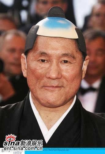 图文:戛纳贺寿短片首映礼--日本导演北野武