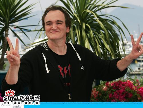 图文:《死亡证据》发布会导演昆汀-塔伦蒂诺