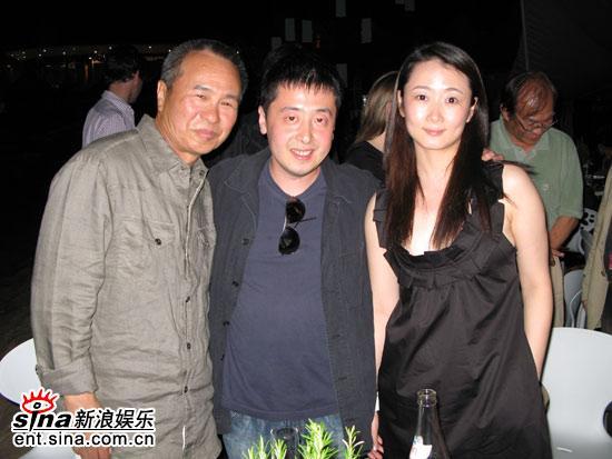 图文:《三峡好人》庆功--侯孝贤导演到场助阵