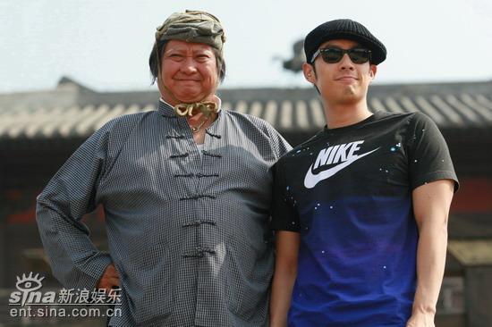 图文:《三国志》首次探班--吴建豪洪金宝首次合作
