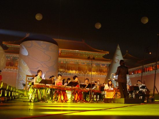 图文:让-雅尔紫禁城音乐会激情上演(19)