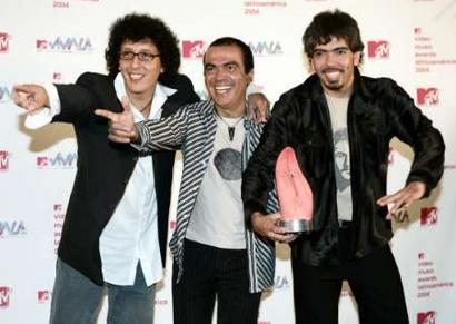 图文:2004MTV拉丁音乐奖颁奖(5)