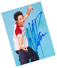 第十一届华语榜中榜奖品-明星签名照片(图)