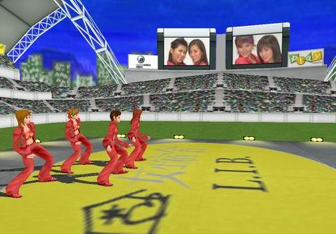 """""""女生宿舍""""首创3D造型真人跳舞卡通模仿(图)"""