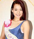 组图:3号候选港姐李颖诗表演芭蕾舞不慎露点