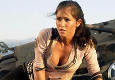 组图:真人版《变形金刚》女主角梅根-福克斯