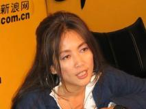 歌手齐豫做客新浪聊北京个唱(3)(组图)