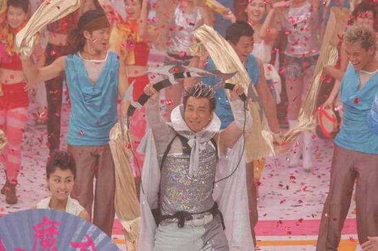 图文:香港无线台庆--现场歌舞精彩表演(1)