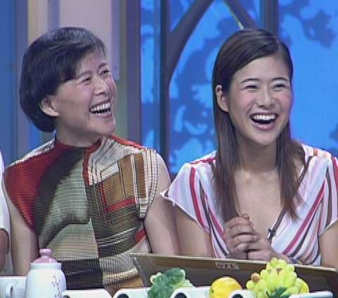 组图:十大快乐明星家庭评选--陈辰和爸妈